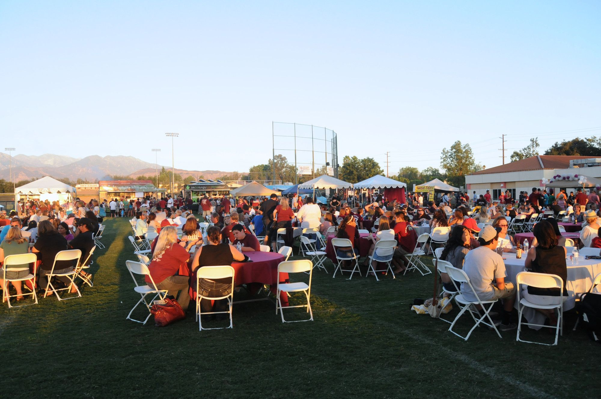 More than 2600 attendees came to the 2012 rah rah