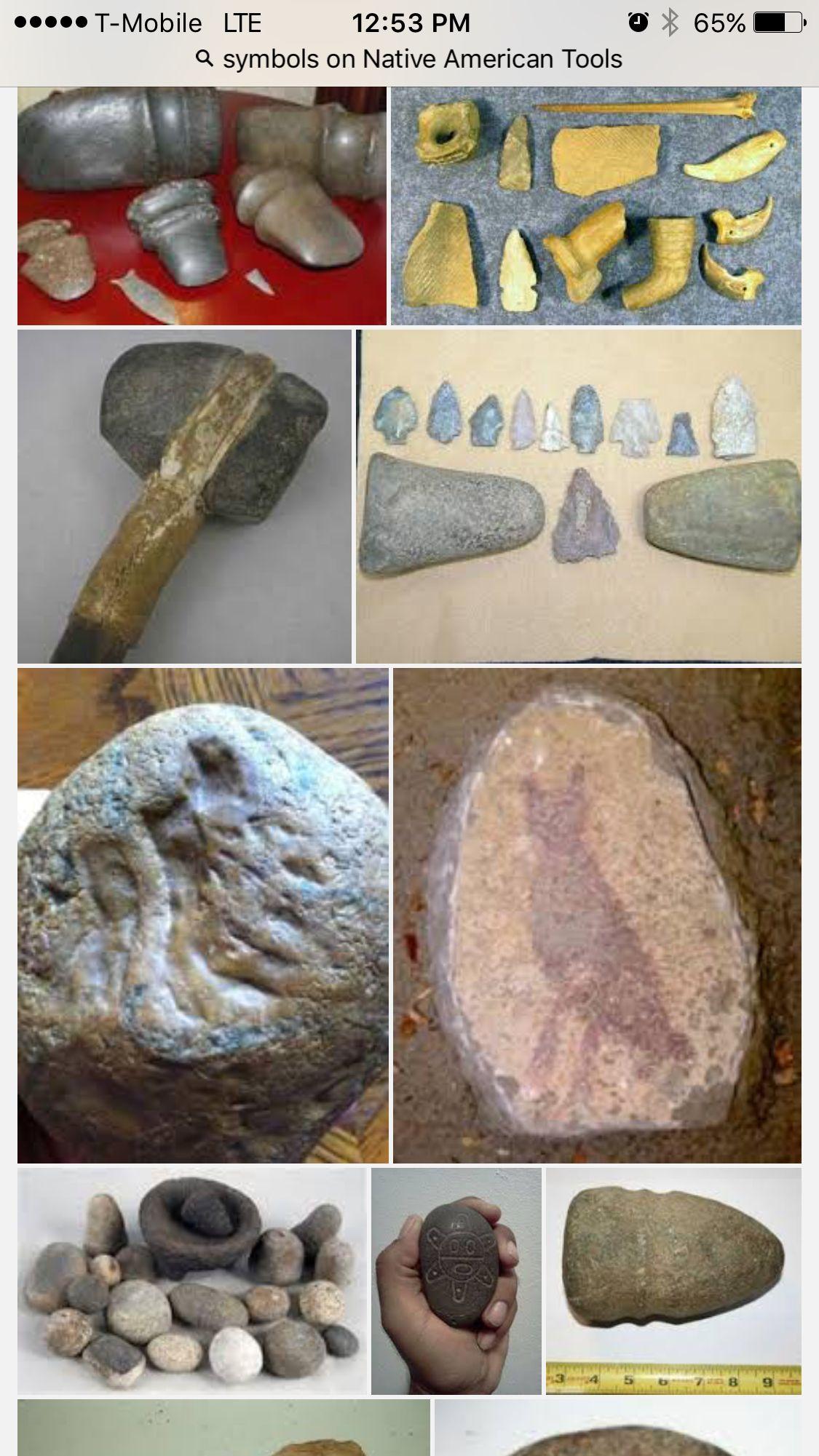 Native American Tools Stone Age Tools Rock Charts Ancient Artifacts Native American Tools Stone Age Tools Native American Artifacts