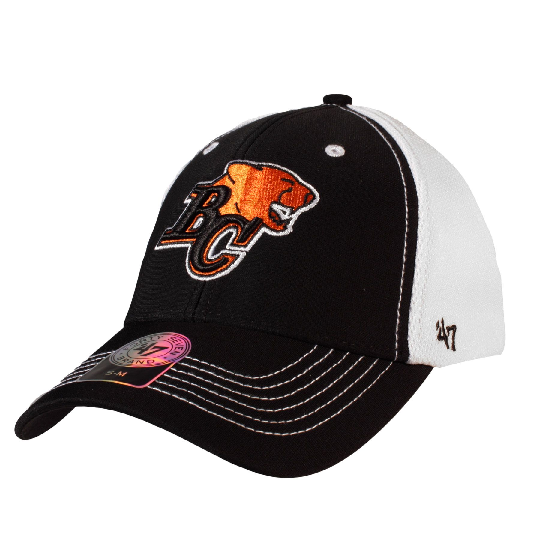 Bc lions cfl influx stretch fit cap fitted caps 47