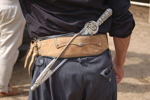 La Guayaca Gaucho Cowboy Girl Leather Items
