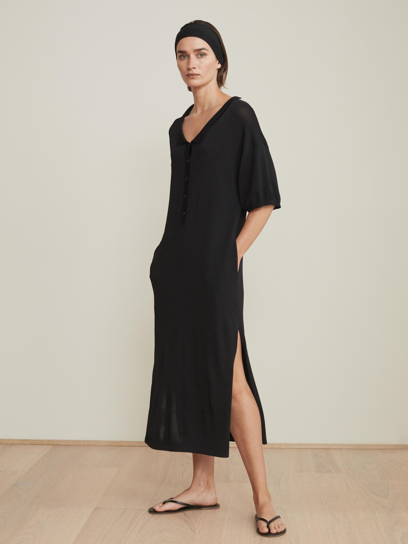 Belize dress black Totême Dresses, Short sleeve