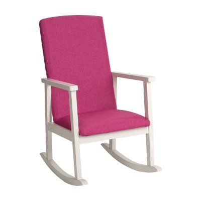 Wondrous Gift Mark Deluxe Upholstered Childrens Rocking Chair In 2019 Machost Co Dining Chair Design Ideas Machostcouk