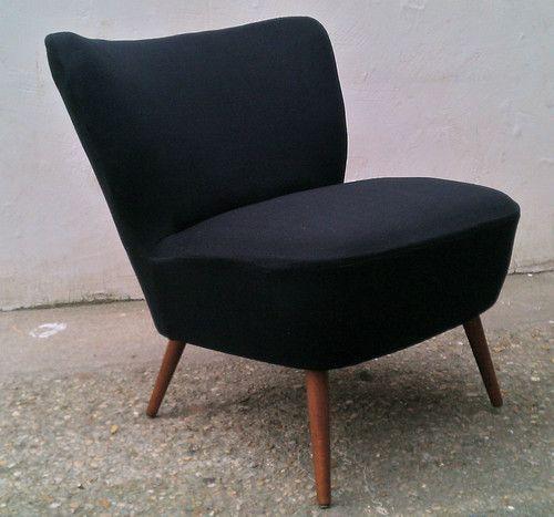 fauteuil chaise visiteur salon 50 vintage design