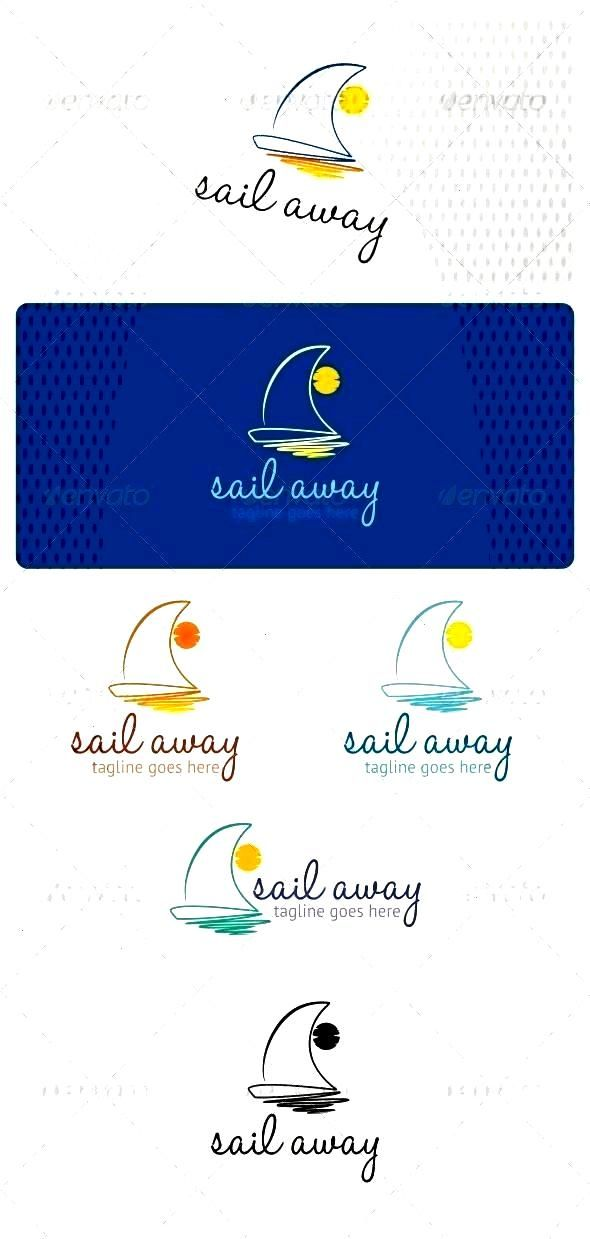 Logo Template by bicone Sail Away Logo is suitable for many businesses... - Stephanie Yee - Sail Aw