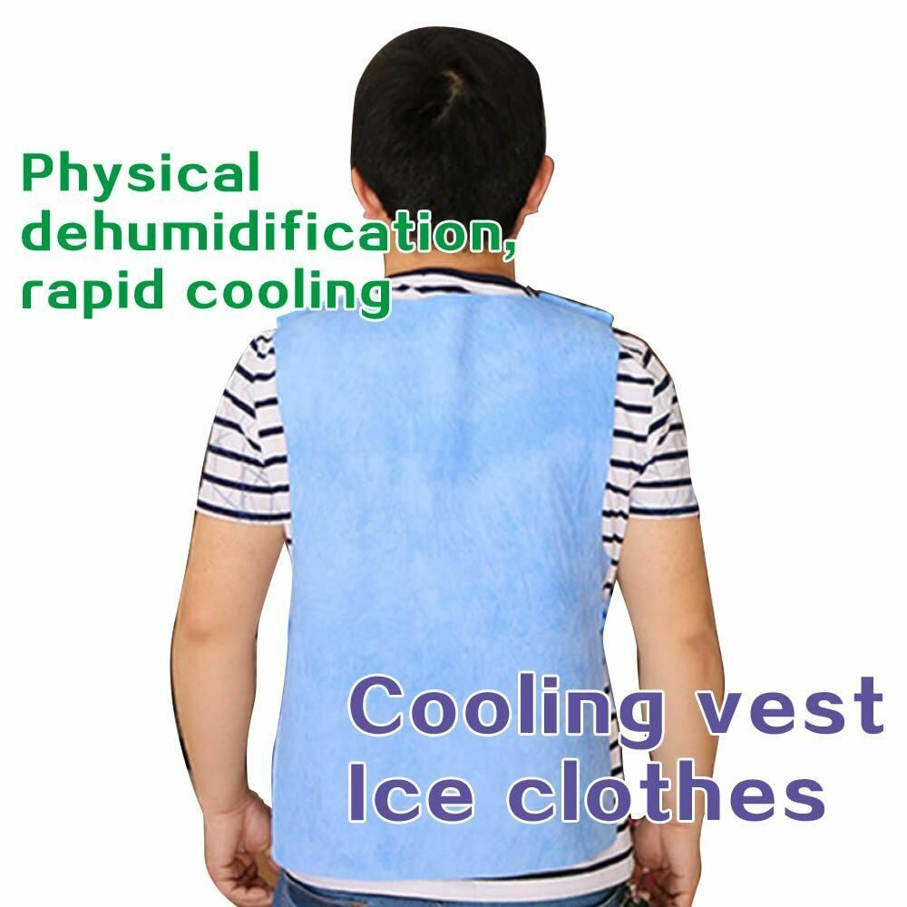 Sponsored Ebay Riding Fishing Ice Vest Cooling Men Women