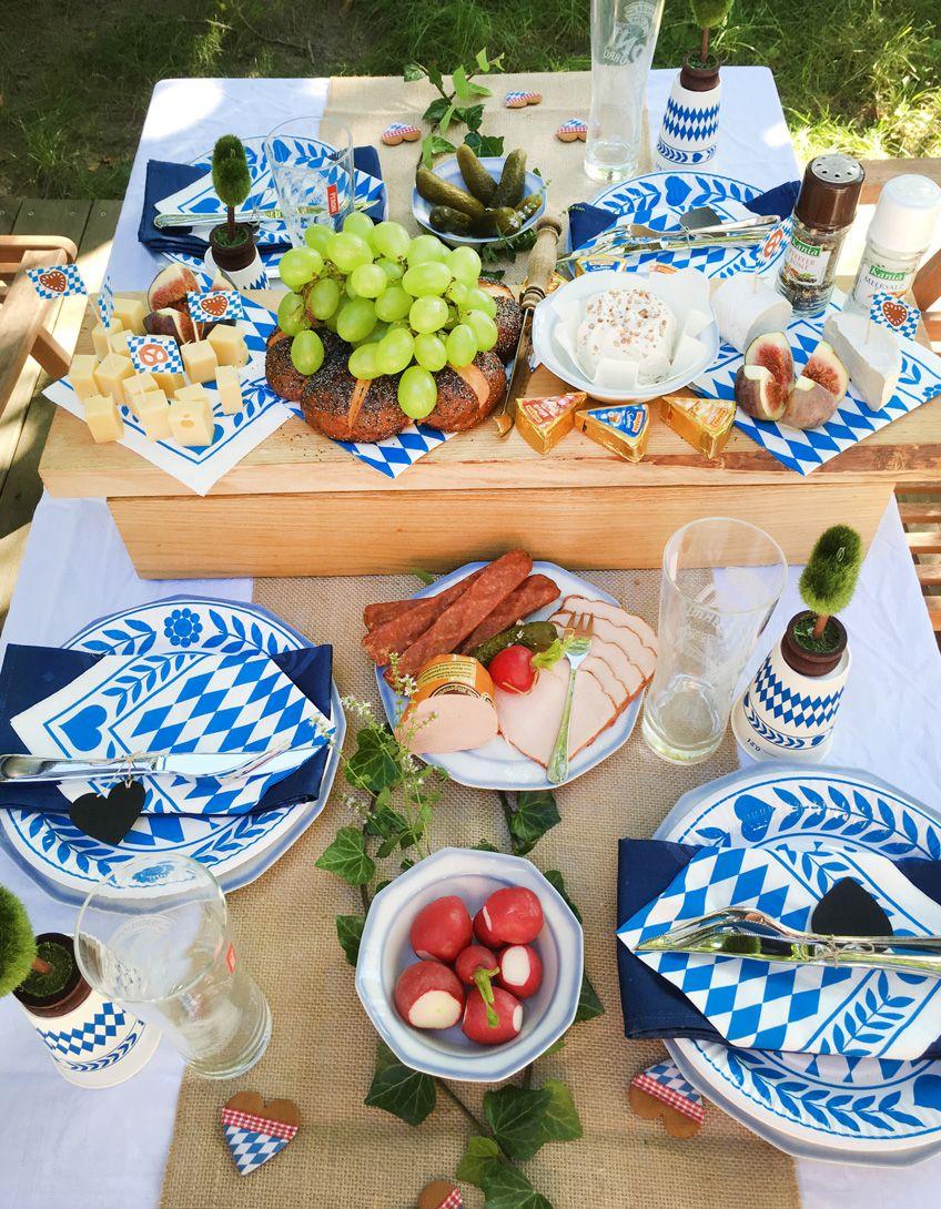 Oktoberfest-Party auf der heimischen Wiesn #octoberfestfood