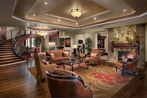 Ceiling Lounge Senior Living Interior Design Assisted Living Assisted Living Facility