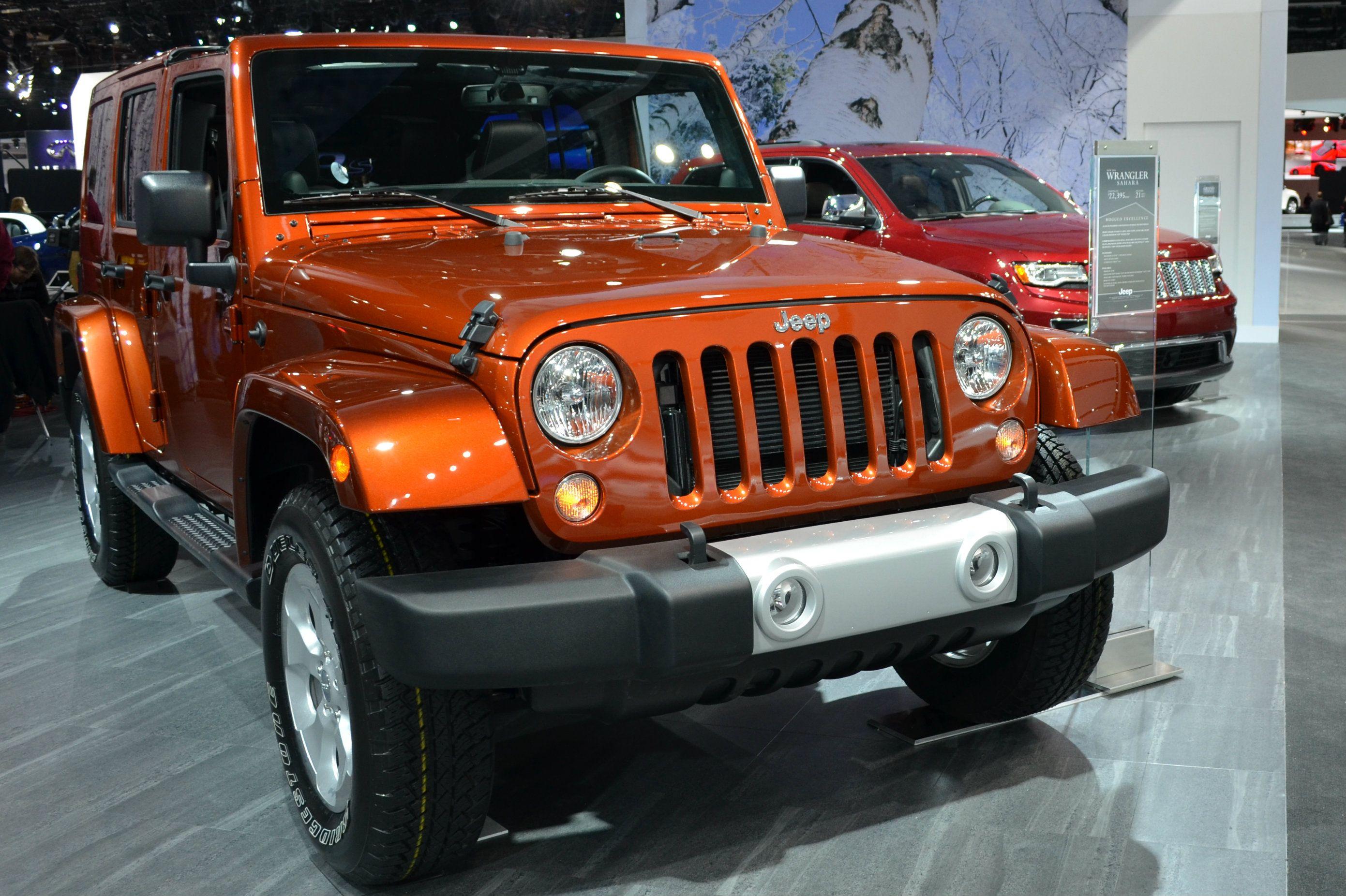 2014 North American International Auto Show Photos 2014 Jeep
