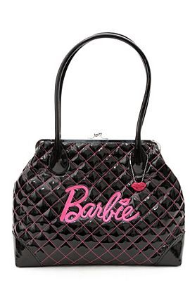 63e250a9ff My bag from Hot Topic. Freaking love it. Barbie Black Patent Kisslock Bag