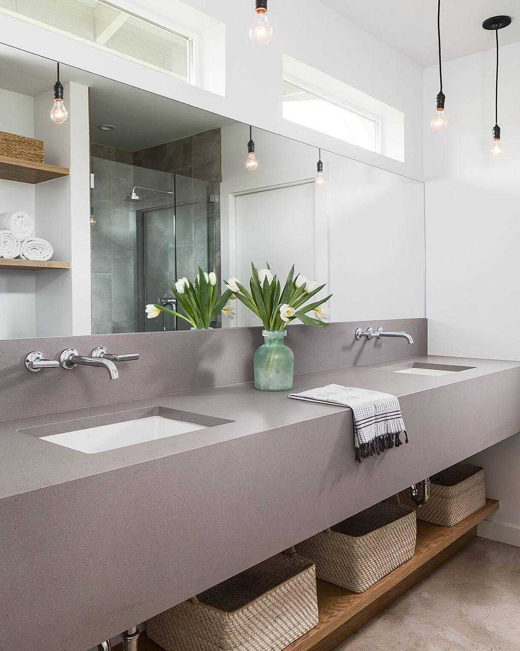 Sleek Concrete certainly looks sleek in this modern ...