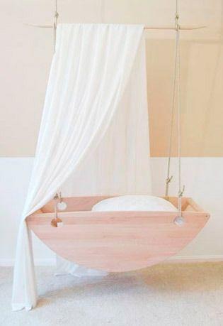 cuna colgante. Dormitorios de bebe. … | Pinteres…