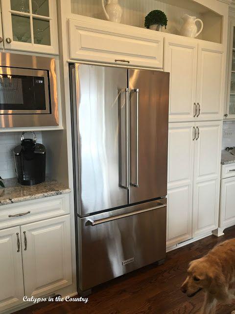 New Kitchen Aid French Door Counter Depth Refrigerator Around The