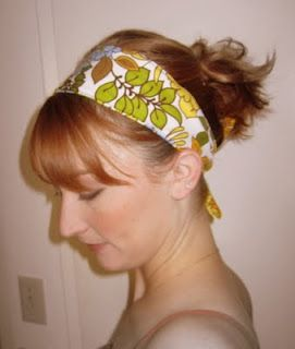 """Easy tutorial for a headwrap that doubles as a belt. Found in the """"Ali"""": Last Minute Headwrap"""