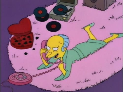 Señor Burns…