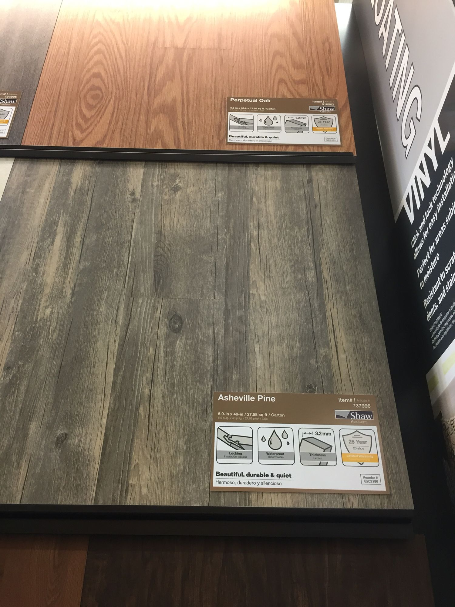 Another Vinyl Flooring Option Click Lock Lowes Gainesvilles - Lowes click and lock flooring