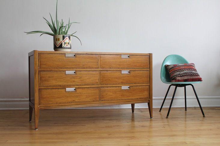 Best Mid Century Modern Six Drawer Dresser Made By Basic Witz 400 x 300