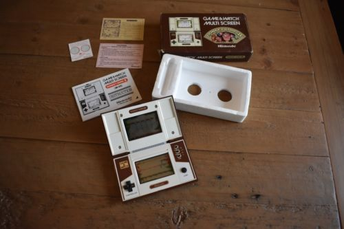 donkey kong jr game and watch ebay