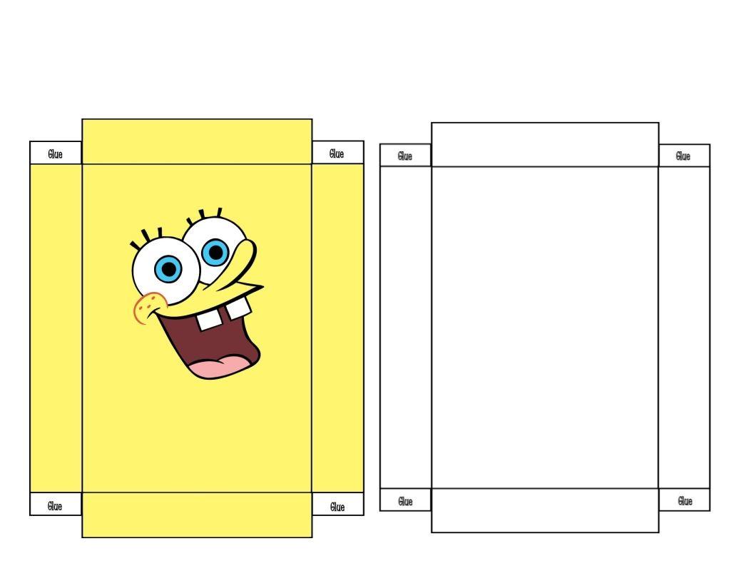 Spongebob Mini Box Free To Use