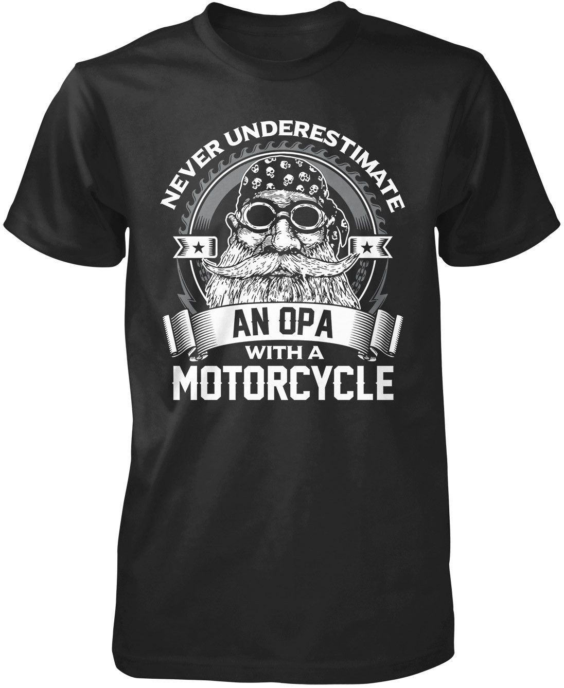 Never Underestimate an Opa with a Motorcycle