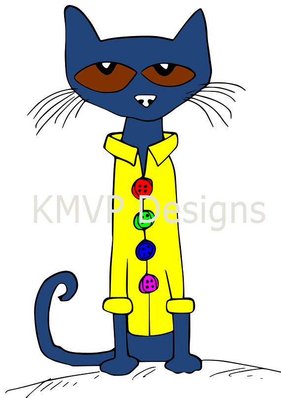 pete the cat svg cut file cricut silhouette cameo paper