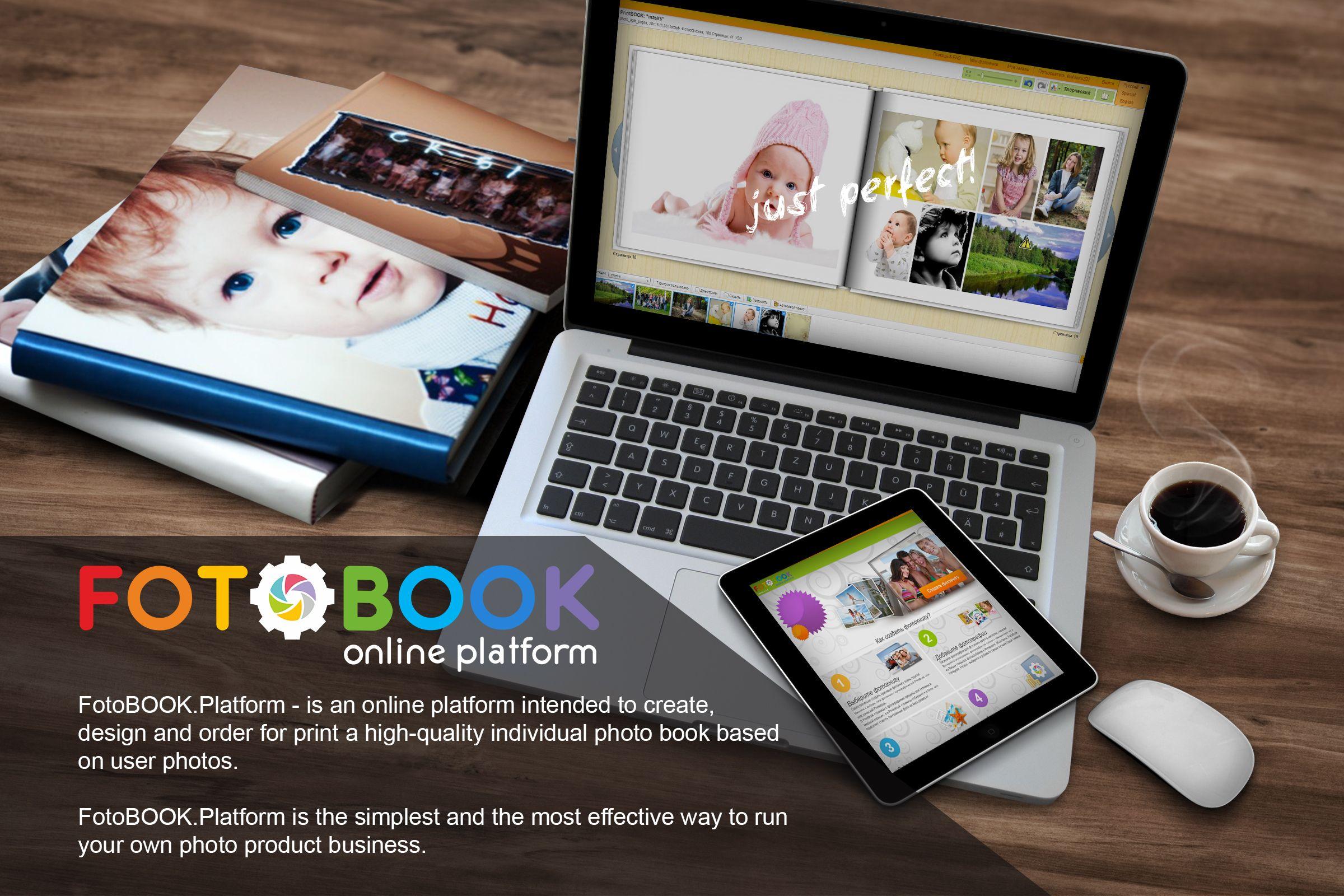 FotoBOOB Platform, online photo book editor | Web4Print