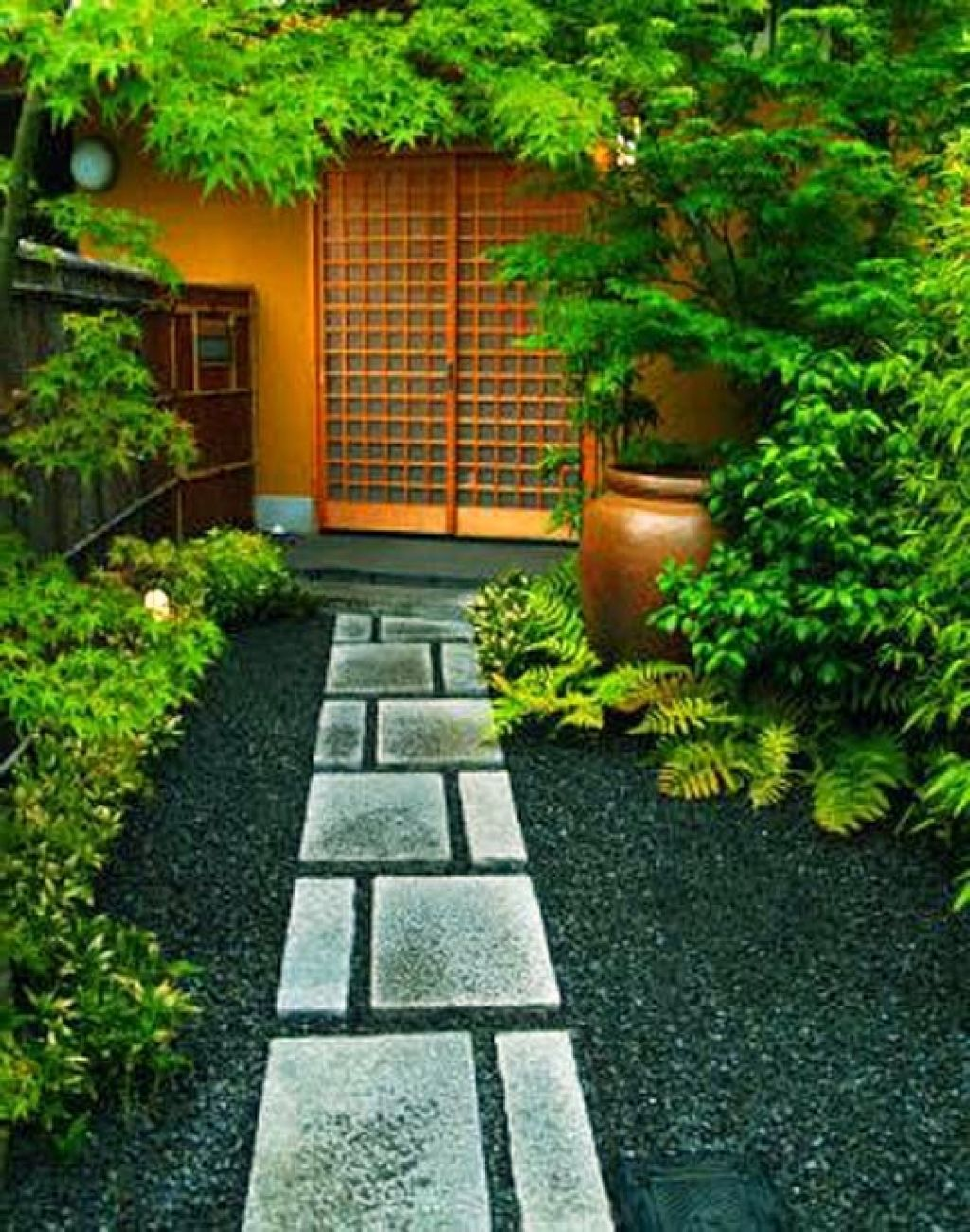 Japanese Garden Designs For Small Spaces Providing Fresh