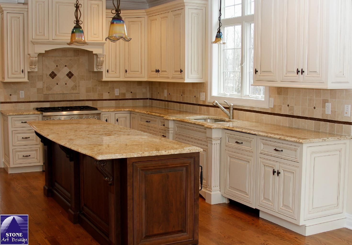 Colonial Cream Granite Kitchen Delicatus Gold Granite Kitchen Google Search Kitchen