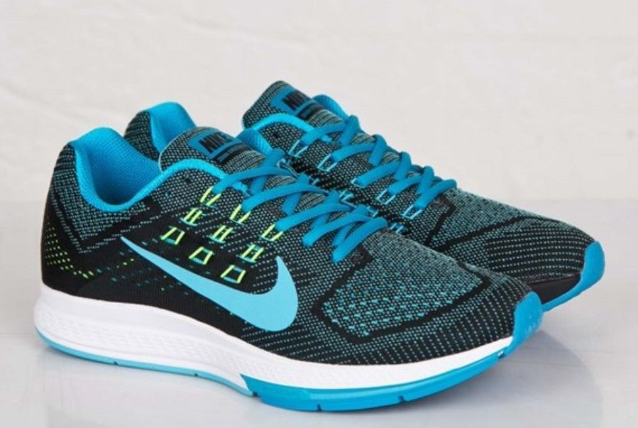best service 6d8ba 49eb7 New Nike Mens Air Zoom Structure 18 Athletic Snickers ...