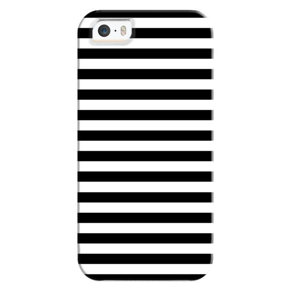 Modern Black White Stripes Monochrome Pattern - iPhone 6s Case,iPhone... ($35) ❤ liked on Polyvore featuring accessories, tech accessories, iphone case, pattern iphone case, apple iphone cases, clear iphone cases, print iphone case and iphone cover case