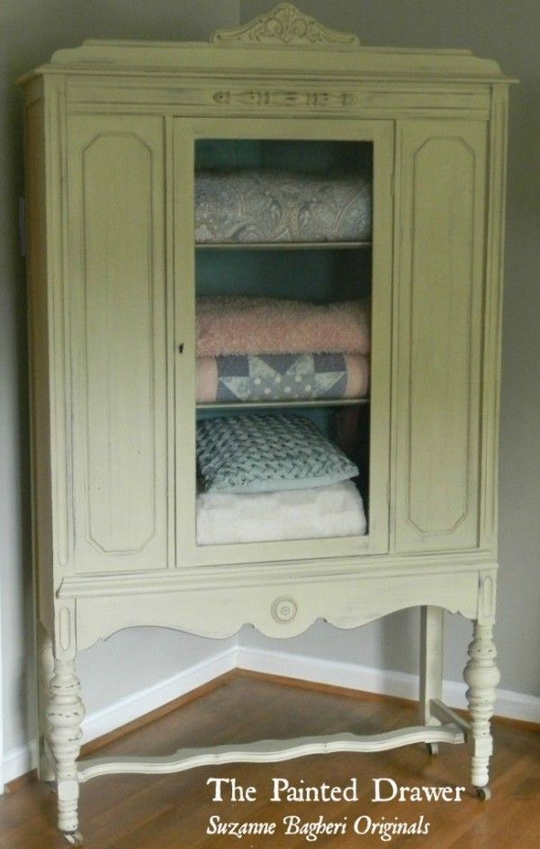Charmant Antique Linen Closet Vintage Linen Cabinet
