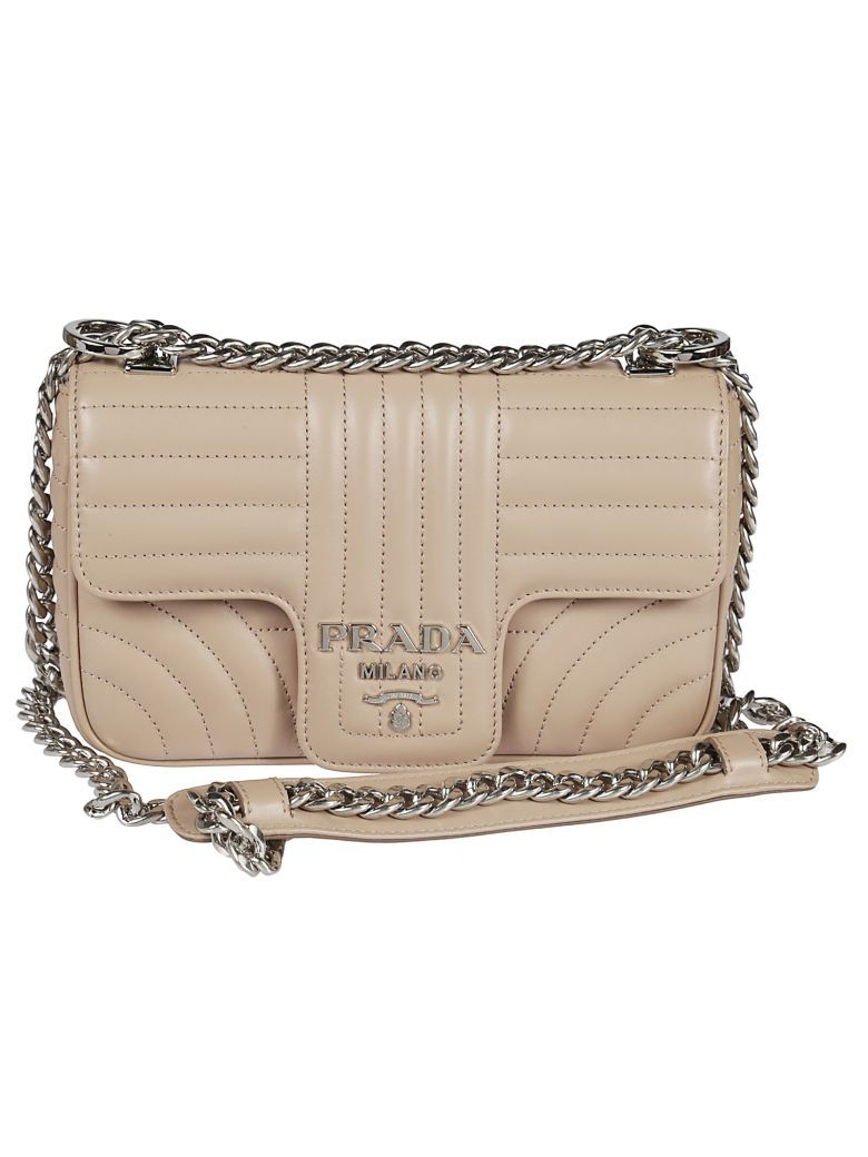 95c0dc9d9dc9 Best price on the market at italist | Prada Prada Matelassé Shoulder Bag
