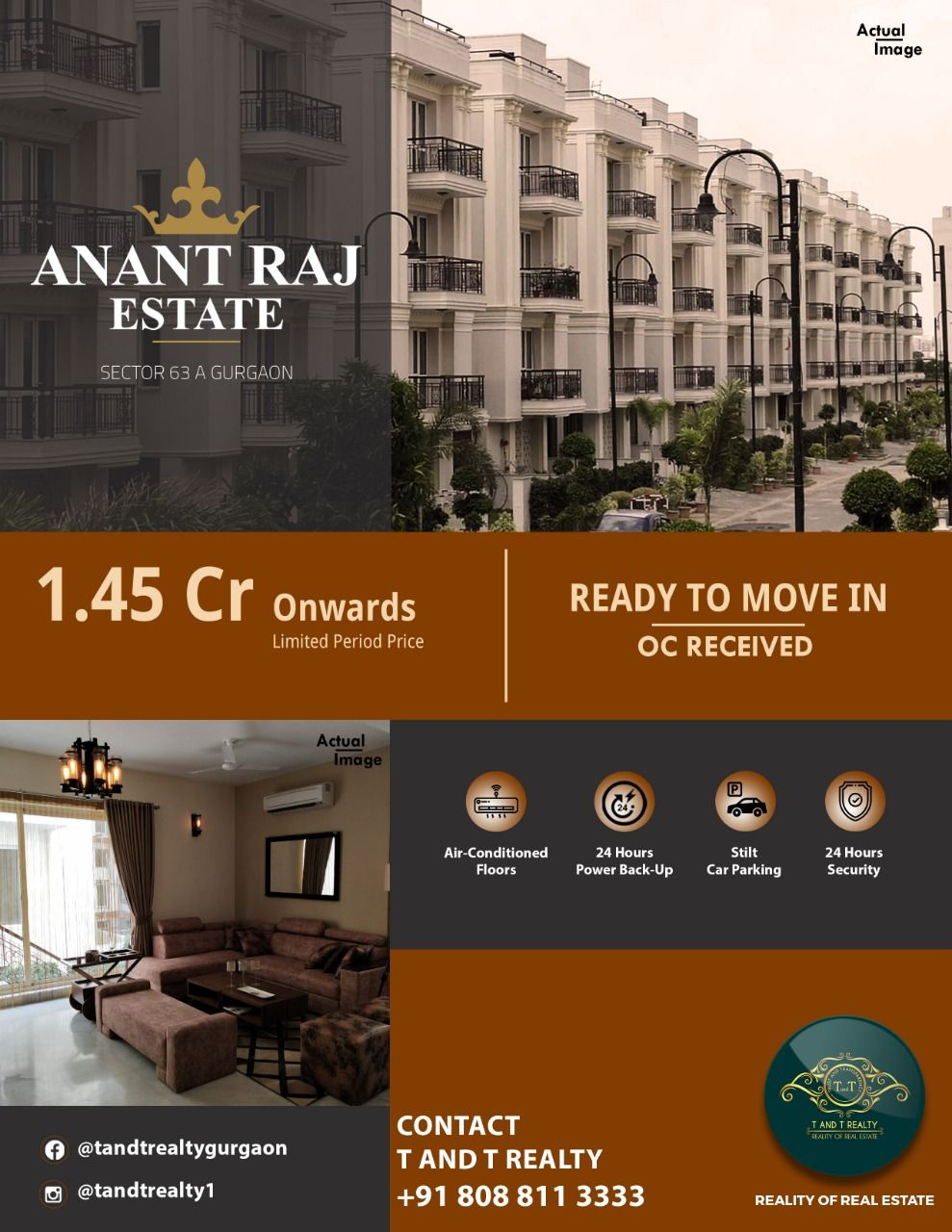 Anant Raj Estate Estates Realty Flooring