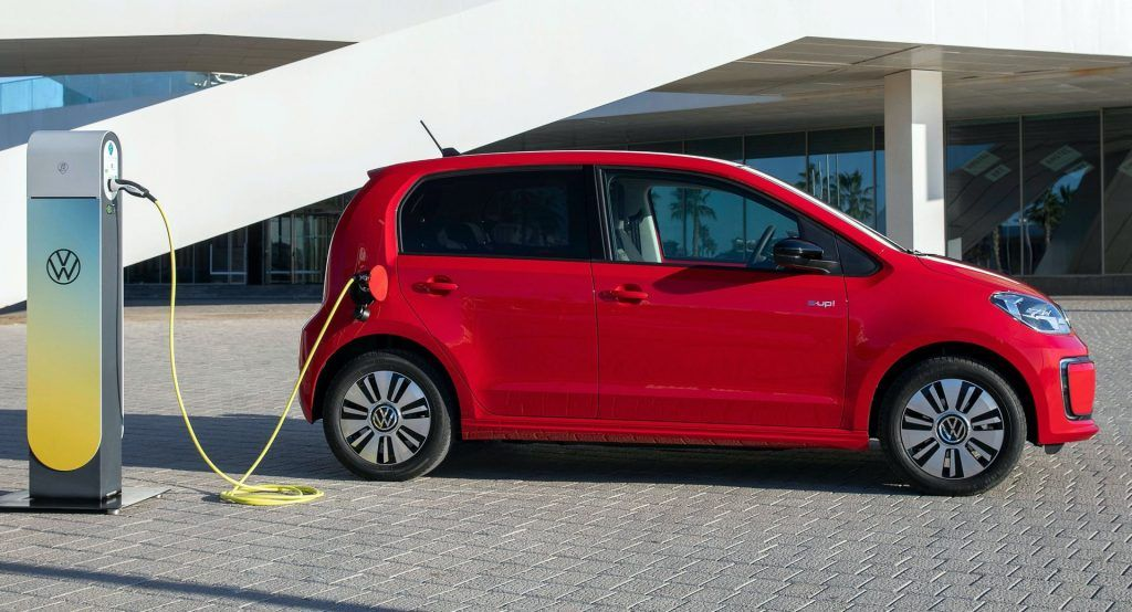 One In Two Vw Up Orders In Germany Is For The All Electric Model In 2020 Living In Car Car Electricity