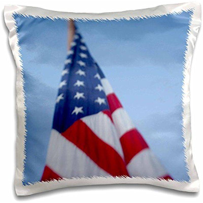 Danita Delimont Flags Usa Washington Bellevue American Flag Us48 Jme0539 John And Lisa Merrill 16x16 Inch Pillo Pillow Cases American Flag Pillows