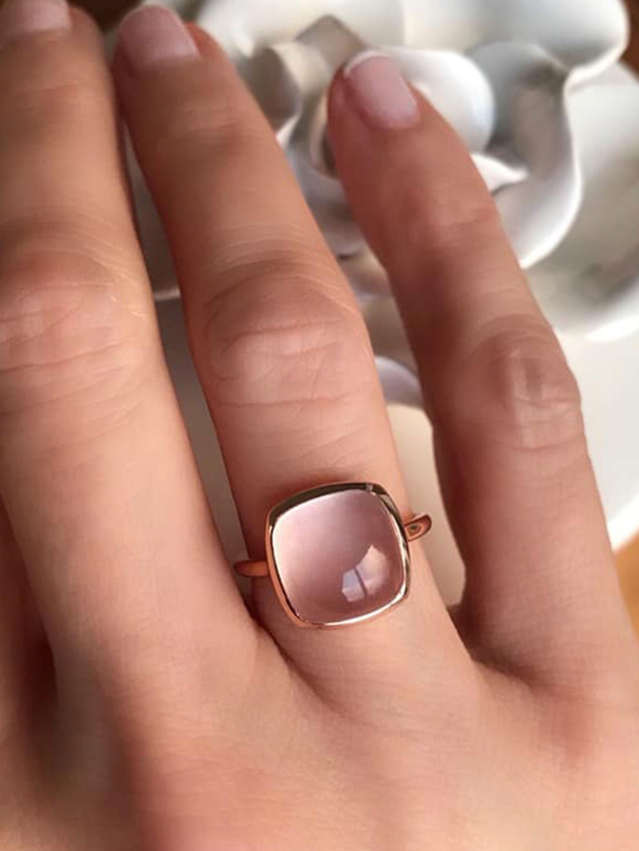 Engagement Bijoux Multi Morganite Améthyste Péridot plaqué or rose bracelets