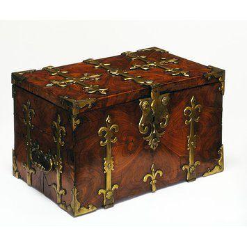 Strong Box Cofre De Madera