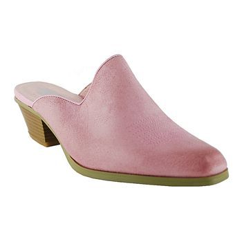 Oak Tree Western Wear   Western Mules in pink---love these!  And so comfortable!!!