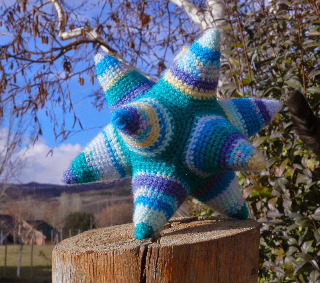daxa rabalea: Dodecaedro estrellado + patrón | balls by Teresa ...