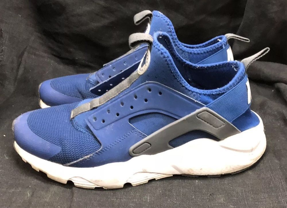 04688bf6abfdc Nike Air Huarache Run Ultra Gym Blue Wolf Grey-White (819685 411) Size 8.5   fashion  clothing  shoes  accessories  mensshoes  athleticshoes (ebay link)