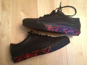 rare vans | RARE VANS SLAYER LEATHER SHOES NEW SIZE 8