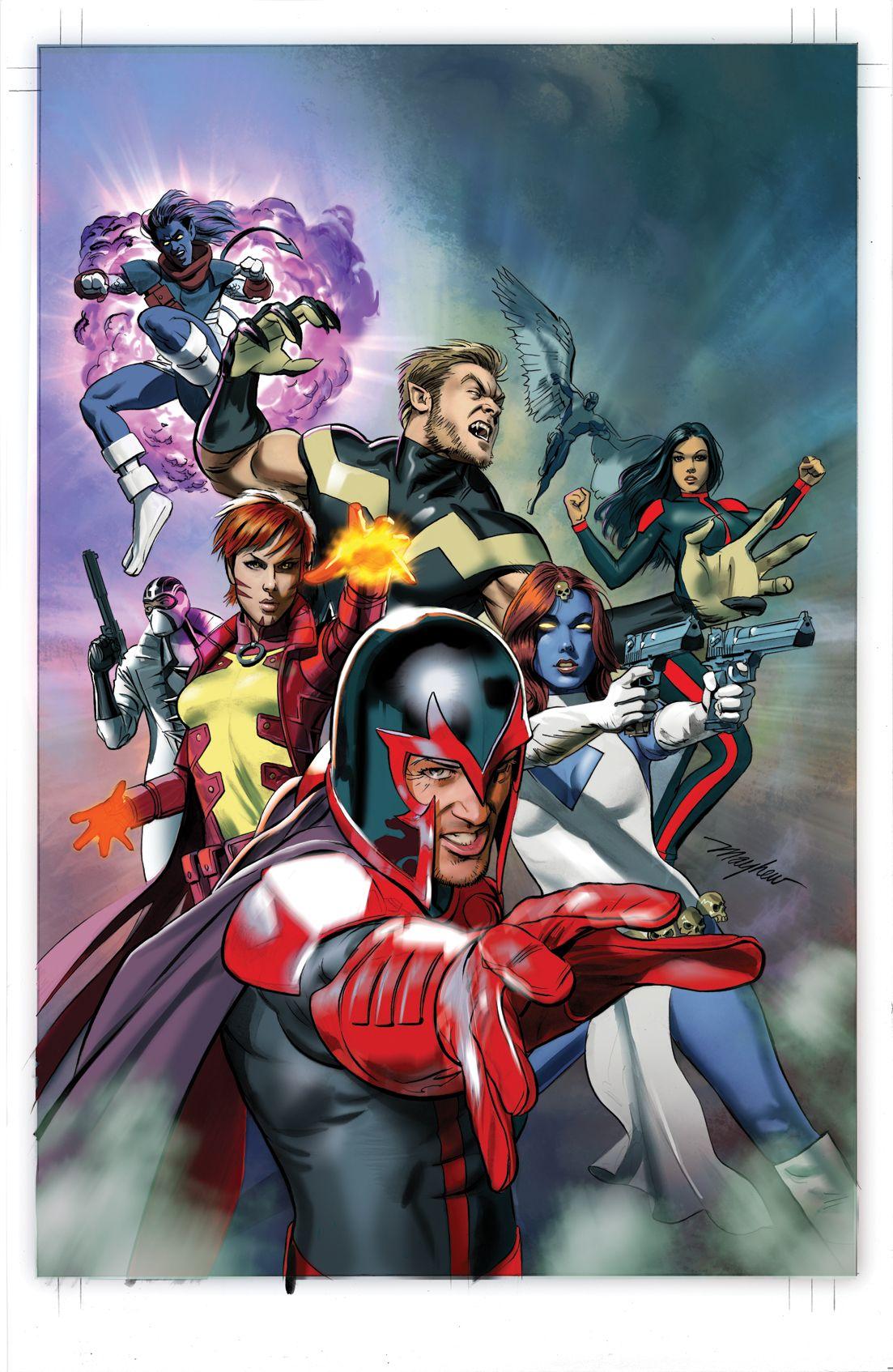 Civil War Ii X Men 3 Variant Mike Mayhew X Men Marvel Comics Art Marvel
