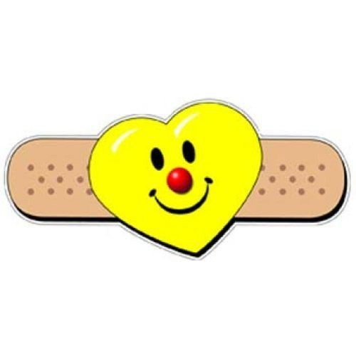 Smiley Heart Band Aid Stickers Heart Band Band Aid Love Smiley