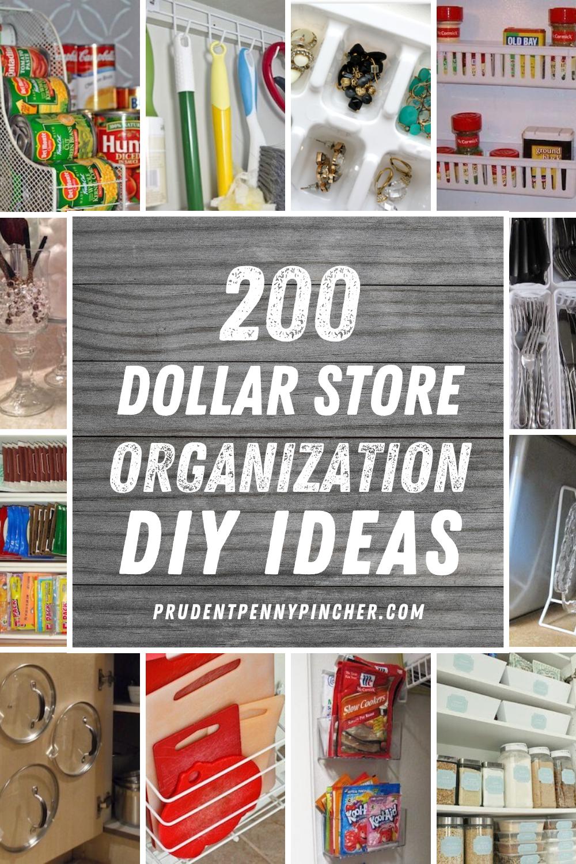 200 Diy Dollar Store Organization Ideas Dollar Store Organizing Dollar Store Diy Organization Dollar Store Diy Projects