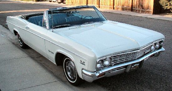 1966 impala ss 396 convertible for sale  1966 Chevy Impala  SS