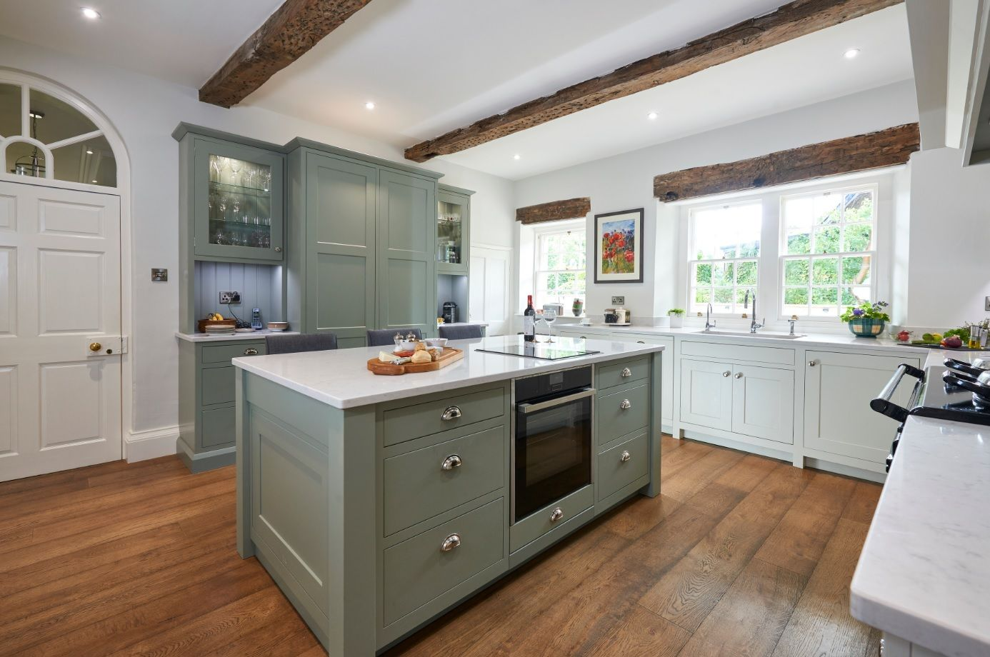 Best This Is Our Monarch Oak Bespoke In Frame Kitchen Painted 640 x 480