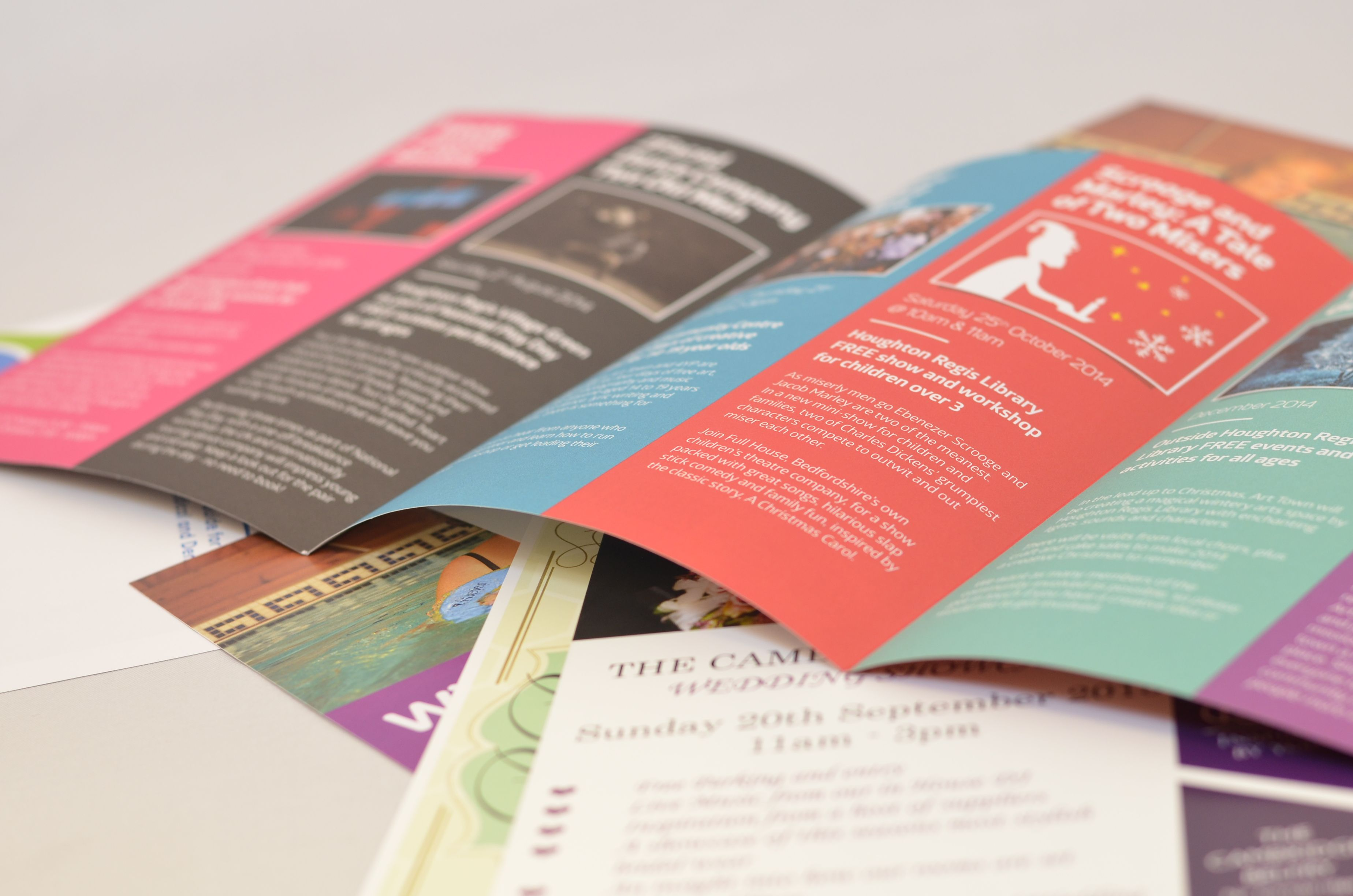 Exuding pure class, our extra thick leaflets with incline creasing bring that added splash of quality to your marketing material. They are the perfect choice for something a little bit special, making your leaflets stand out from the rest. http://bit.ly/1LjcewS