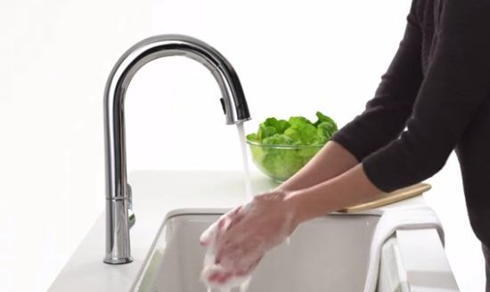 Best Touchless Motion Sensor Powered Pull Down Kitchen Faucets