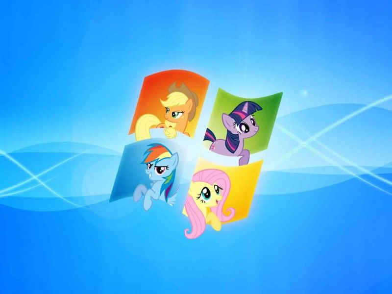 My Little Pony Windows 7 Wallpaper