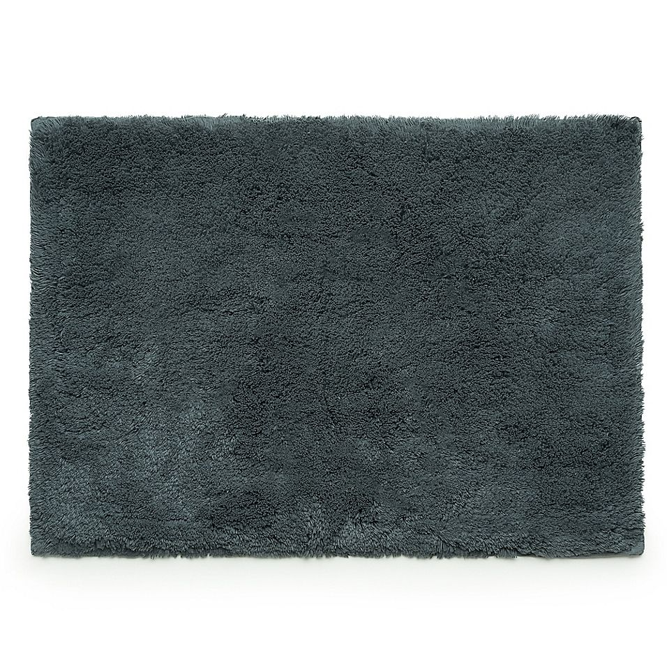 Under The Canopy 30 X 48 Organic Cotton Bath Rug In Ink Rugs Organic Cotton Canopy