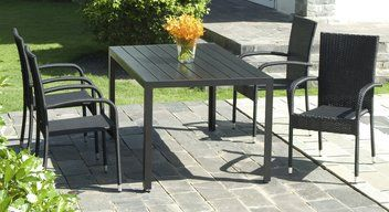 Pöytä SKAGEN P150cm+4 tuolia GUDHJEM | JYSK